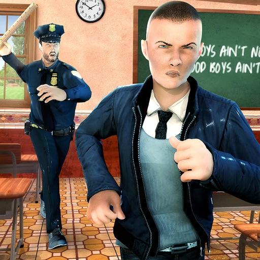 High School Gangster Escape 3D iOS App