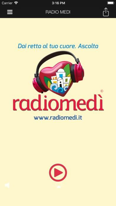 Screenshot of RADIO MEDI1