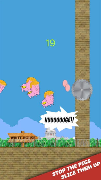 Trumpig - Donald Trump Game 2017 Screenshot