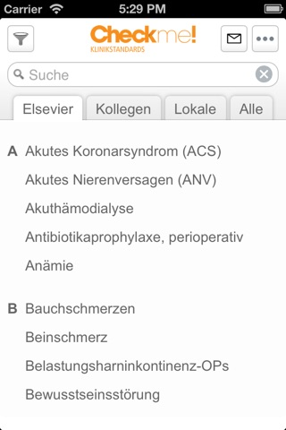 Checkme! Klinikstandards screenshot 1