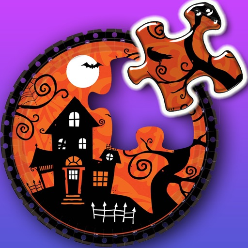 Halloween Jigsaw Puzzles- Best Mind Games For Kids iOS App