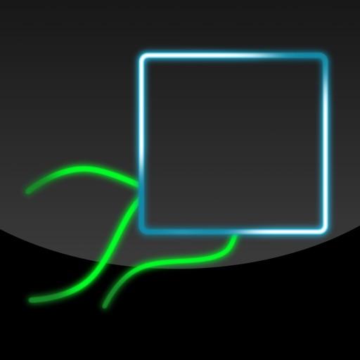 Neon Tilt Dodge iOS App