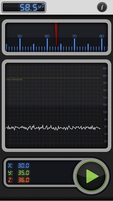 Screenshot #1 pour Teslameter 11 - Metal Detector