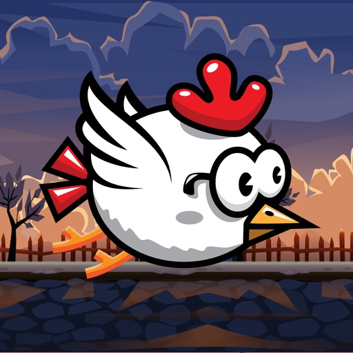 Tap Tap Chicken Flying Adventures Pro iOS App