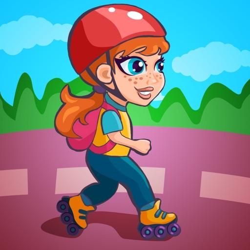 Spring Roller Girl 3D iOS App