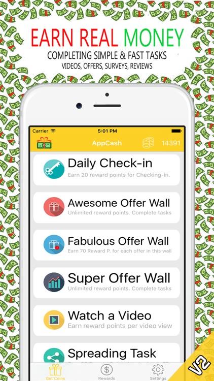 AppCash Money - Earn Free Gift Cards & Rewards