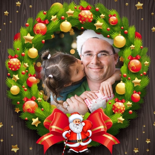 Holiday Xmas Photo Frames iOS App