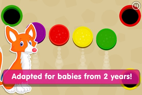 Smart Baby Shapes: Learning games for toddler kids screenshot 4