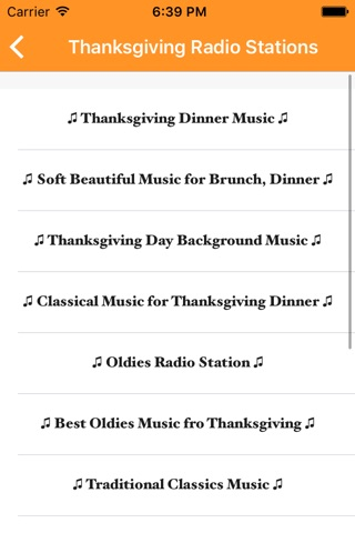Thanksgiving 2015 : Great Radio Stations & Music (+ Funny Jokes and Stories! ) screenshot 3