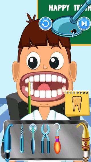 Виртуальные Дети Стоматолог Салон - крутые парни стоматолог игра Screenshot