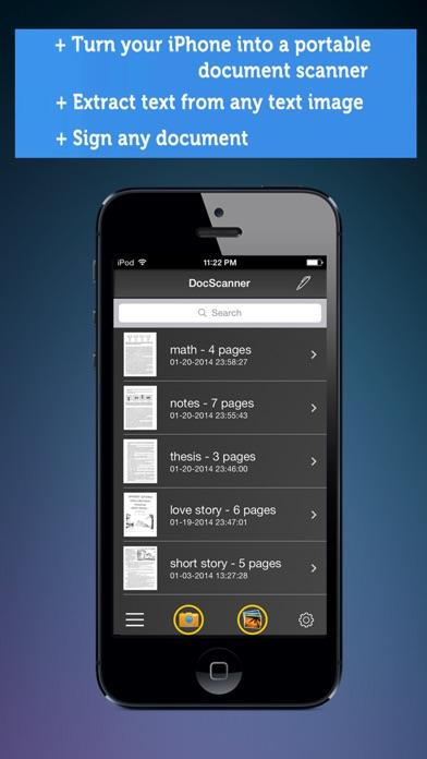 iphone screenshot 1 - Receipt Scanner