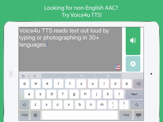 Voice4u Text-To-Speech (TTS) Screenshots