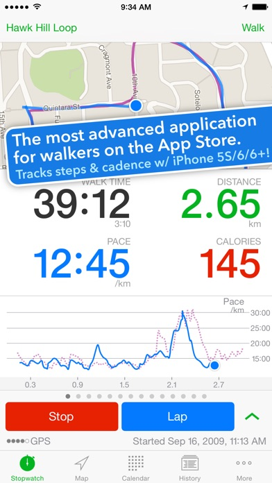 Walkmeter for iPhone App Review