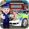 Crazy Police Car Wash free salon design software