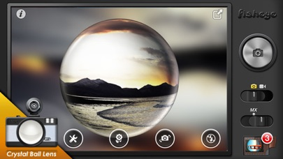 download Fisheye Pro - Camera with Film, LOMO Lens, Editor apps 3