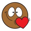 Ochat: Smiley autocollants & emoji stickers noir