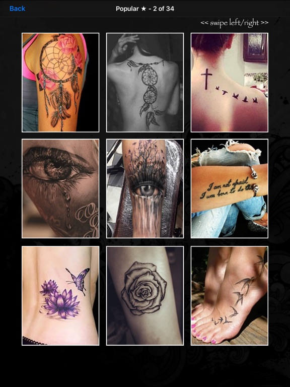 Tattoo Designs! - HD Ink for Tattoos & Wallpapers iPad