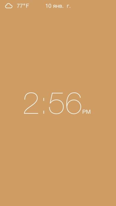 Clock - Modern deskclock with nightstand modeСкриншоты 1