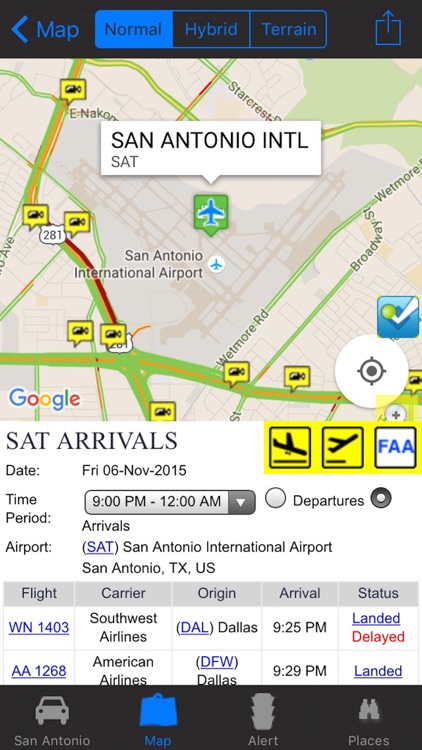San Antonio Traffic Cameras - Traffic Travel NOAA All-In-1 Pro by ...