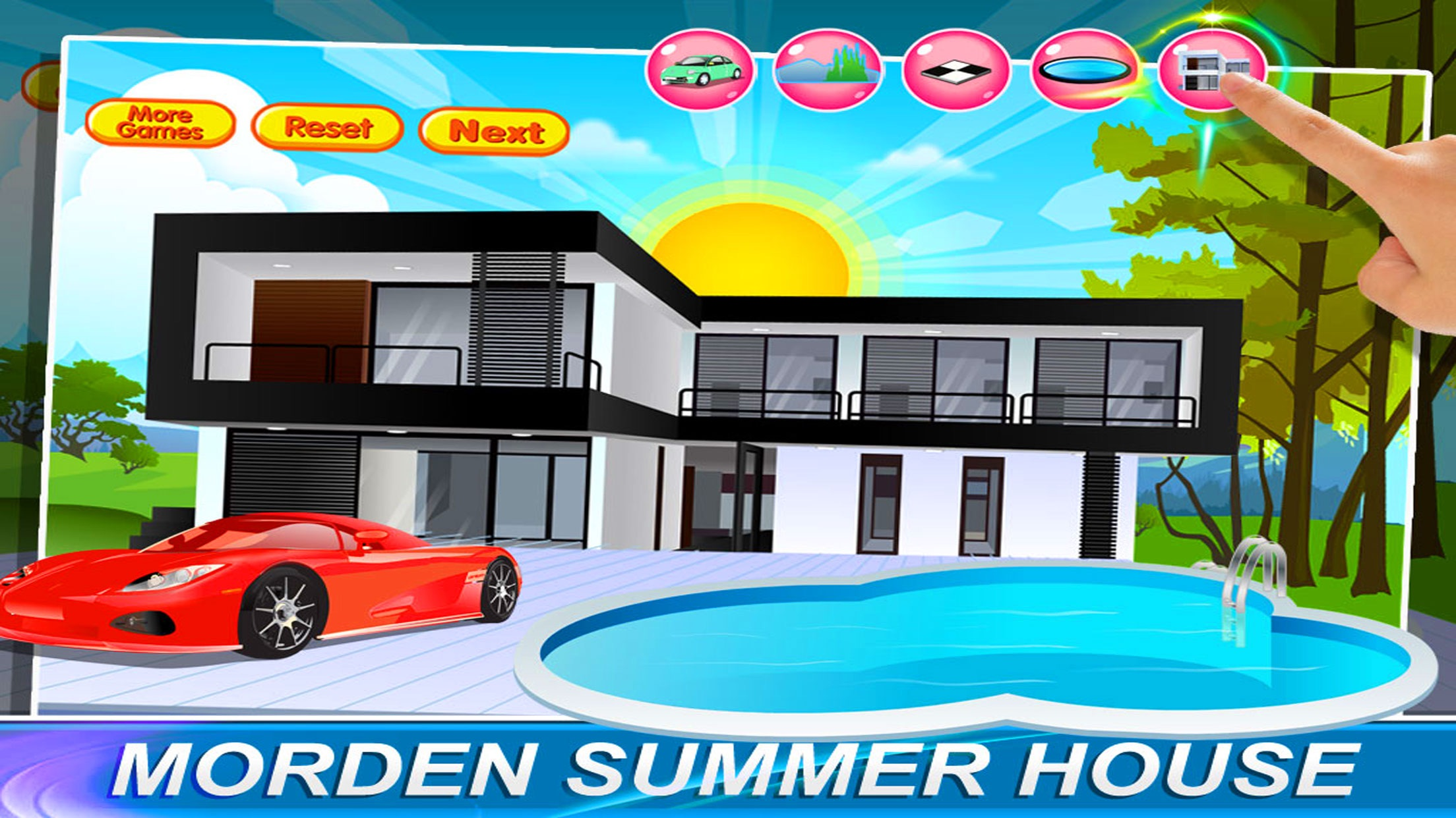 Awesome Modern Summer House Designs Games Pictures - Simple Design ...
