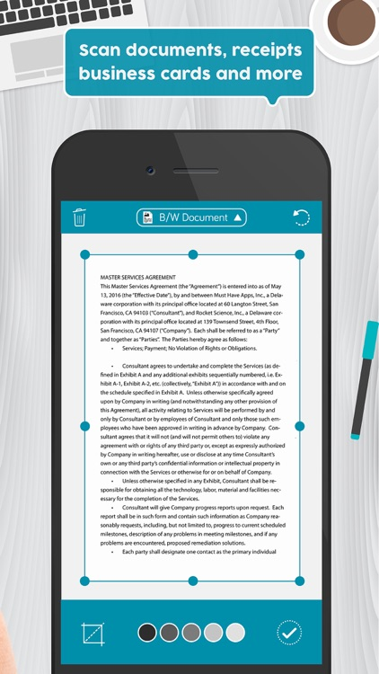 Easy scanner pdf scanner app to scan document by must have apps easy scanner pdf scanner app to scan document reheart Images