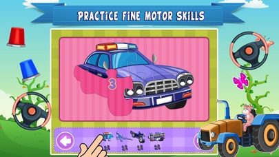 Trucks World Count and Touch- Toddler Counting 123 for Kids screenshot two