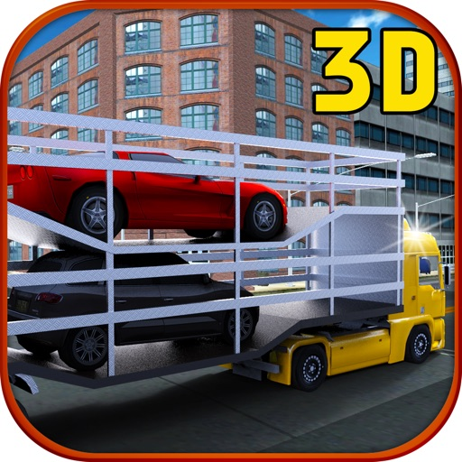 汽车转运蛋白 3D 模拟器-3D 卡车模拟和停车游戏