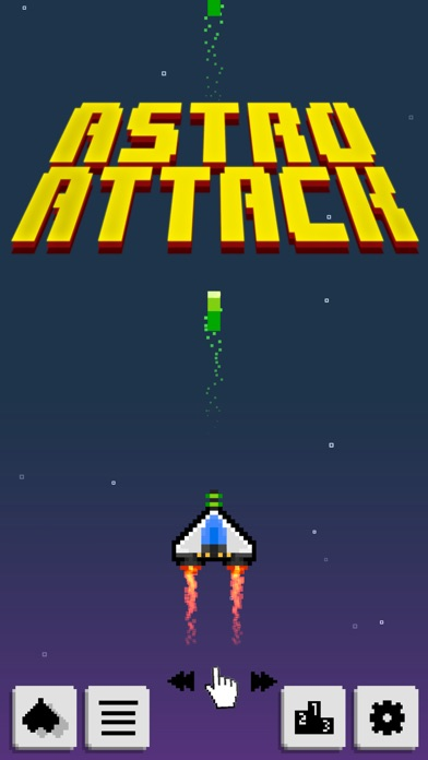 Astro Attack Screenshot