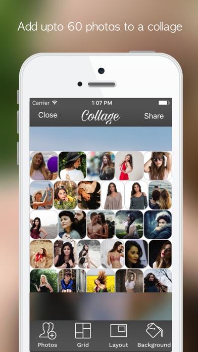 PicZone:Photo Editor & Sticker Screenshots