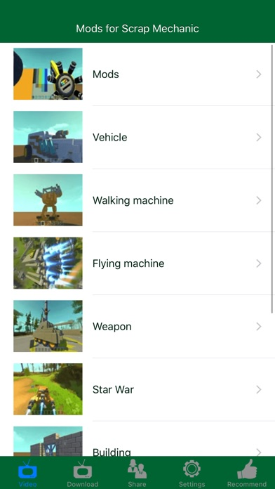 Contraptions and Mods for Scrap Mechanic Screenshot