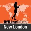 New London Оффлайн Карта и
