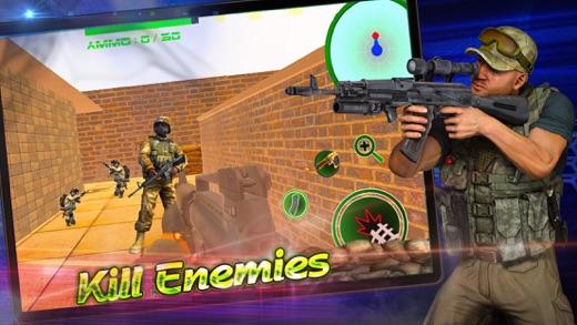 Critical Strike Terrorist Attack CS Screenshot