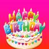 salma akter - Happy Birthday Wish Stickers  artwork