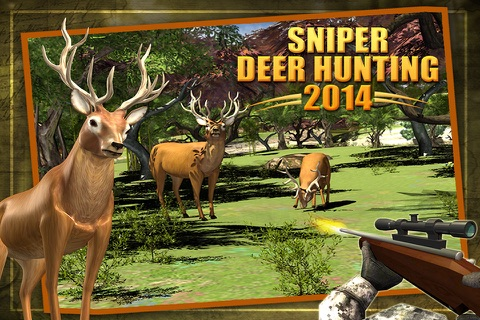 Deer Hunting - Sniper Shooting screenshot 1