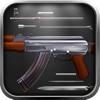 AK 47 Big Machine Gun Shooter