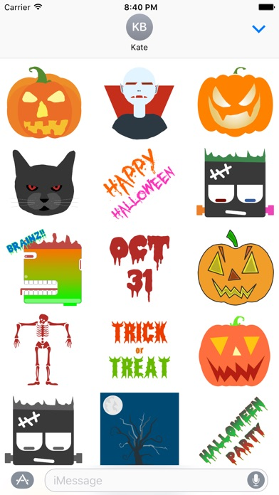 Halloween Stickers - for iMessage on the App Store