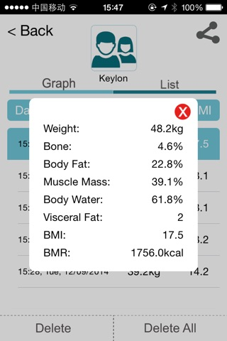 Etekfit screenshot 3
