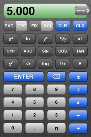 RPN Calc screenshot 1