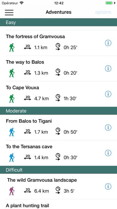 Screenshot of Gramvousa App