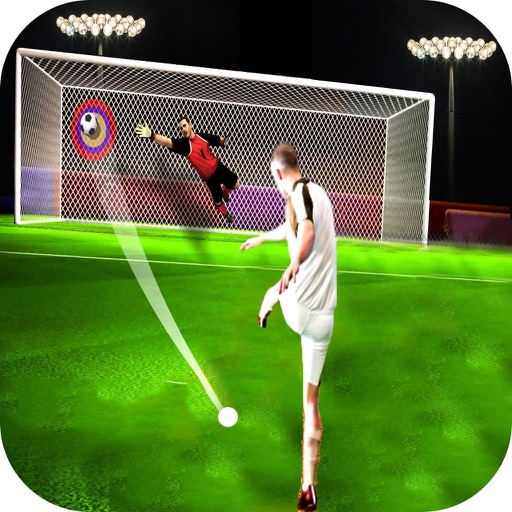 Real Football Penalty Flick : Hero-es Kicks Shots iOS App