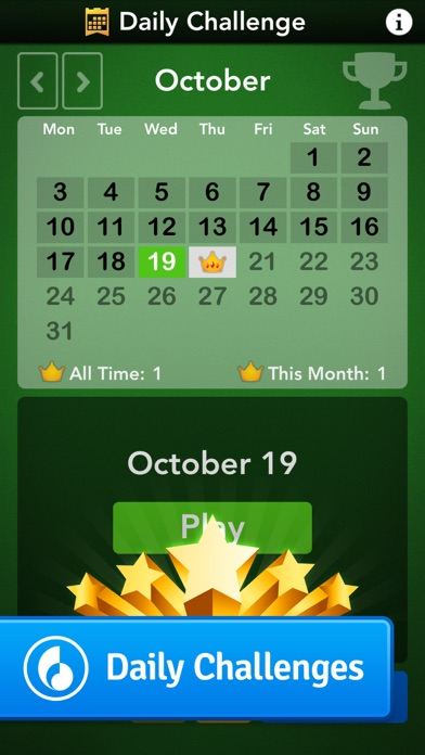 Solitaire by Mobility... screenshot1
