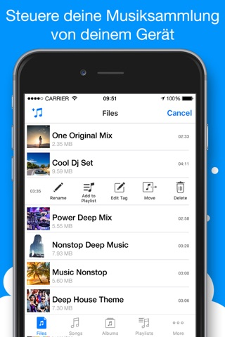 Musicloud - MP3 and FLAC Music Player for Clouds screenshot 4