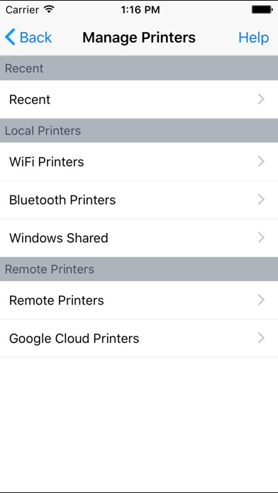 PrinterShare - Printing documents, photos, emails Скриншоты4