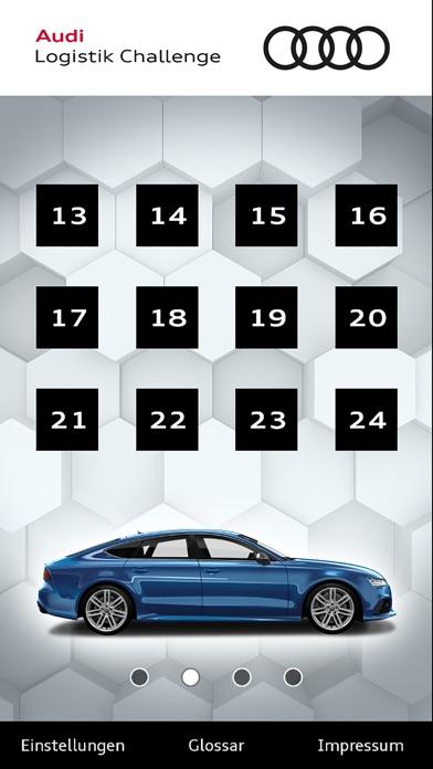 Screenshot von Audi Logistik Challenge1