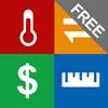 Unit Converter FREE - Best Units & Currency app