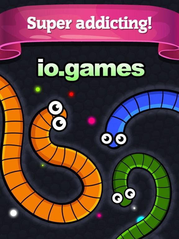 Игра Slither Голодные Змеи Игры Лучшие Бесплатные Игры Для Детей на iPad