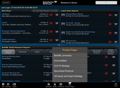 Research Library screenshot 2