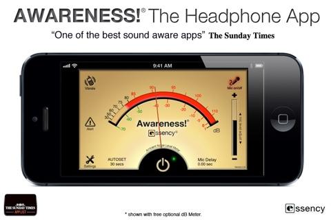 Awareness! The Headphone App screenshot 4