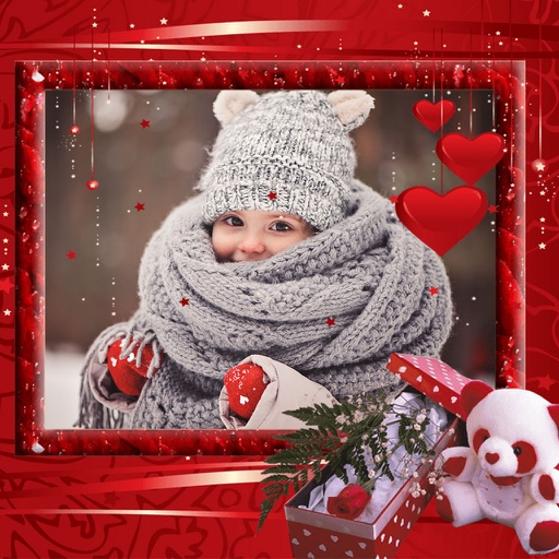 Holiday Christmas Picture Frames - Graphic Design iOS App