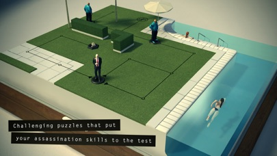 Screenshots of Hitman GO for iPhone